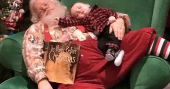 Ho-Ho-How-Cute-Santa-and-baby-boy-share-nap